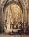 Interior of a Church 1840 - Jules Victor Genisson