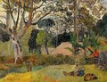 Te raau rahi (aka The Big Tree) 1891 - Paul Gauguin