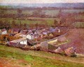 Bird's Eye View Giverny 1889 - Sanford Robinson Gifford
