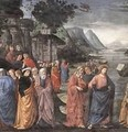 Calling Of The First Apostles (Detail) 1481 - Domenico Ghirlandaio