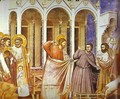 Christ Purging The Temple 1304-1306 - Giotto Di Bondone