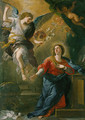 The Annunciation 1672 - Luca Giordano