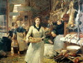 The Market Place - Victor-Gabriel Gilbert