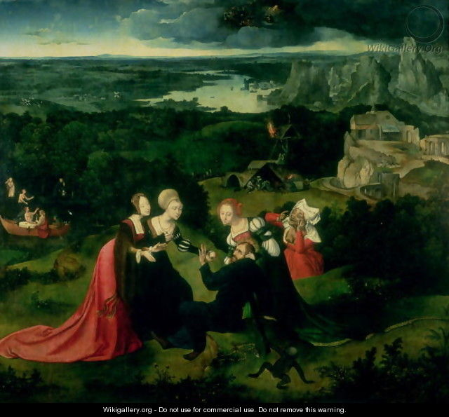 The Temptation of St Anthony - Joachim Patenier (Patinir)