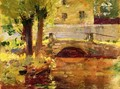 The Bridge at Giverny 1891 - Sanford Robinson Gifford