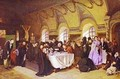 A Meal In The Monastery 1865-76 - Vasily Perov