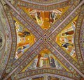 Vault Of The Doctors Of The Church 1290-1295 - Giotto Di Bondone