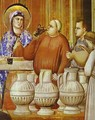 The Wedding Feast At Cana Detail 1304-1306 - Giotto Di Bondone