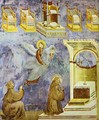The Vision Of The Thrones 1295-1300 - Giotto Di Bondone