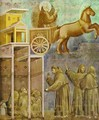 The Vision Of The Chariot Of Fire 1295-1300 - Giotto Di Bondone