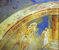 The Mission Of Archangel Gabriel Detail 1 1302-1305 - Giotto Di Bondone