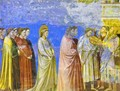 The Marriage Procession Of The Virgin Detail 1304-1306 - Giotto Di Bondone