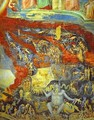 The Last Judgement Detail 6 1304-1306 - Giotto Di Bondone