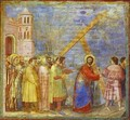 The Carrying Of The Cross 1304-1306 - Giotto Di Bondone