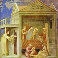 The Birth Of Mary 1304-1306 - Giotto Di Bondone