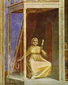 The Angel Appearing To St Anne Detail 1304-1306 - Giotto Di Bondone