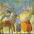 St Francis Giving His Cloak To A Poor Man 1295-1300 - Giotto Di Bondone