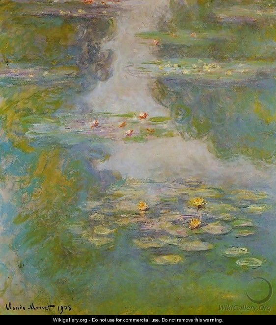 Water-Lilies10 1908 - Claude Oscar Monet