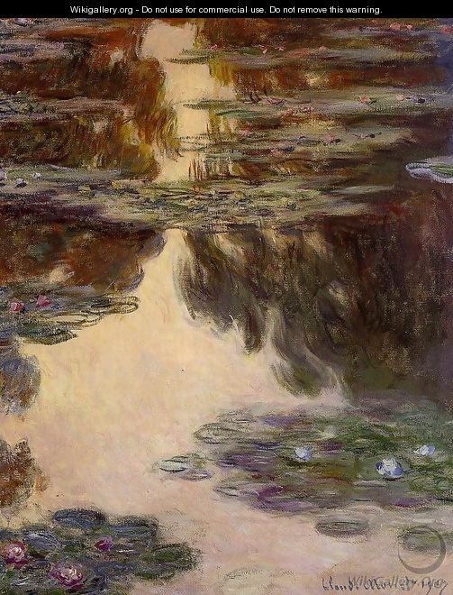 Water-Lilies10 1907 - Claude Oscar Monet