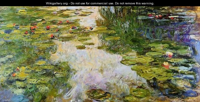 Water-Lilies1 1917-1919 - Claude Oscar Monet