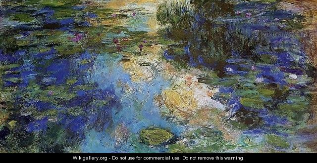 The Water-Lily Pond 1917-1919 - Claude Oscar Monet