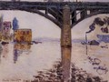 The Road Bridge at Argenteuil1 1874 - Claude Oscar Monet
