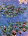 Red Water-Lilies 1914-1917 - Claude Oscar Monet
