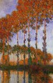 Poplars on the Banks of the River Epte Sunset 1891 - Claude Oscar Monet