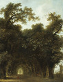 A Shaded Avenue probably 1773 - Jean-Honore Fragonard