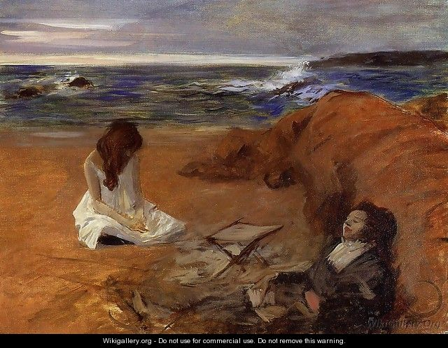 The Beach 1910-1914 - Jean-Louis Forain