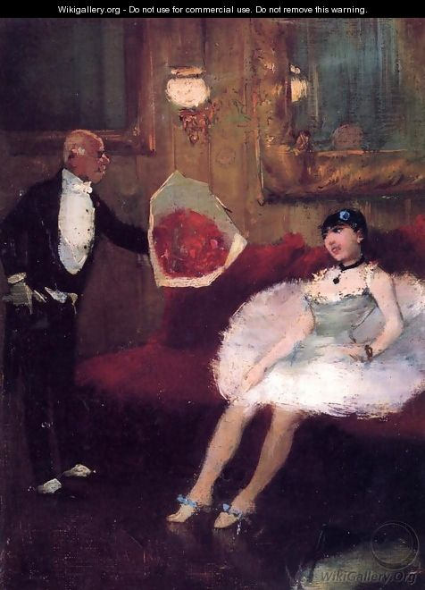 The Admirer 1877-1879 - Jean-Louis Forain
