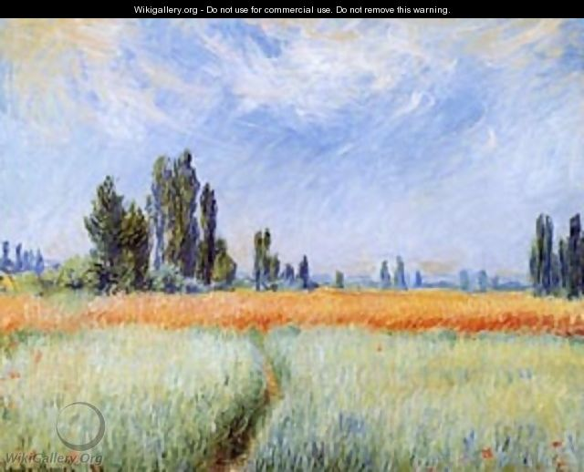 Wheatfields - Claude Oscar Monet