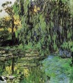 Weeping Willow and Water-Lily Pond2 1916-1919 - Claude Oscar Monet