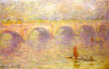 Waterloo Bridge 4 - Claude Oscar Monet