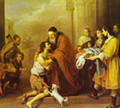 The Return Of The Prodigal Son 1670-74 - Bartolome Esteban Murillo