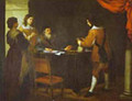 The Prodigal Son Receiving His Portion Of Inheritance 1660s - Bartolome Esteban Murillo