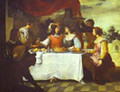 The Prodigal Son Feasting With Courtesans-1660s - Bartolome Esteban Murillo