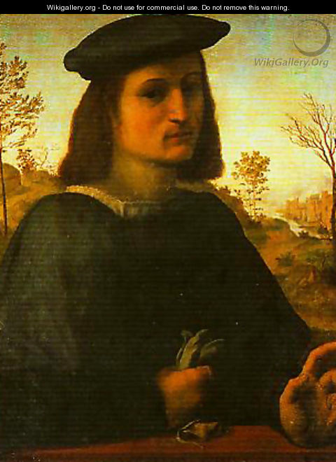 Portrait of a Young Man - Francesco Franciabigio