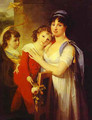 Portrait Of Anna Muravyova Apostol (1770s-1810) With Her Son Mathew (1793-1886) And Her Daughter Catherine (1794-1849) 1799 - Jean-Laurent Mosnier