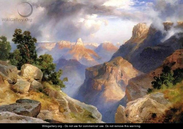 Grand Canyon 1912 - Thomas Moran