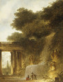 The Cascade probably 1773 - Jean-Honore Fragonard