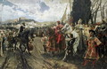 The Surrender of Granada in 1492 - Francisco Pradilla y Ortiz