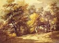 Wooded Landscape With A Waggon In The Shade 1760s - Thomas Gainsborough