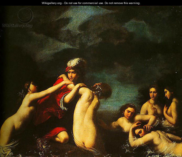 Ila and the Nymphs - Francesco Furini