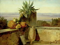Roman Balcony 1834 - Friedrich Nerly