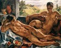 Two Nudes 1923 - Valer Ferenczy