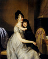 Anne Pauline Dufour Ferance And her Son Jean Marc Albert 1802 - Johann Heinrich The Elder Tischbein