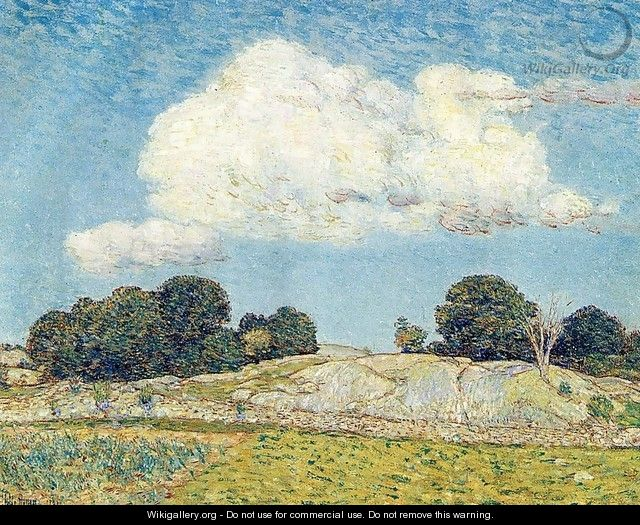 Dragon Cloud, Old Lyme - Frederick Childe Hassam