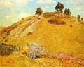 Bornero Hill Old Lyme Connecticut - Frederick Childe Hassam