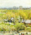 Across the Park - Frederick Childe Hassam